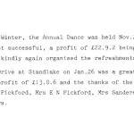 Oxford Downs CC - 1931 Dance Report (2)