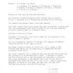 Oxford Downs CC - 1934 AGM Minutes