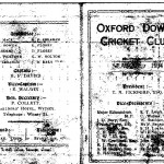 Oxford Downs CC - 1934 Officers