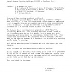 Oxford Downs CC - 1938 AGM Minutes