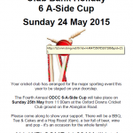 ODCC Bank Holiday 2015 thumb
